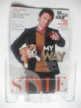 Style magazine - Jamie Oliver cover (25 September 2011)