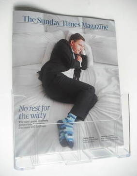<!--2011-09-25-->The Sunday Times magazine - Lee Evans cover (25 September