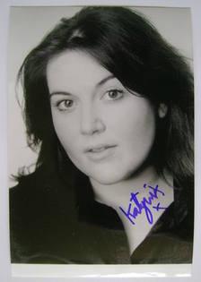 Katy Wix autograph