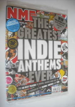 NME magazine - The Greatest Indie Anthems Ever cover (5 May 2007)