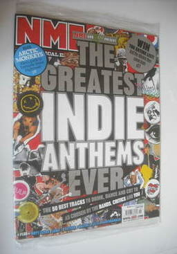 <!--2007-05-05-->NME magazine - The Greatest Indie Anthems Ever cover (5 Ma