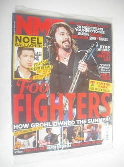 <!--2011-07-16-->NME magazine - Dave Grohl cover (16 July 2011)