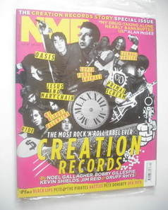 <!--2011-05-21-->NME magazine - Creation Records cover (21 May 2011)