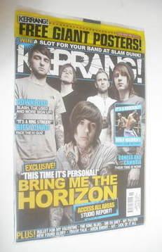 <!--2010-04-17-->Kerrang magazine - Bring Me The Horizon cover (17 April 20