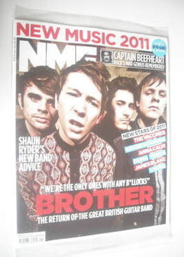 <!--2011-01-08-->NME magazine - Brother cover (8 January 2011)