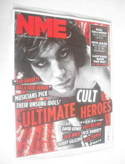 <!--2011-05-28-->NME magazine - Syd Barrett cover (28 May 2011)
