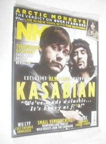 <!--2011-06-04-->NME magazine - Kasabian cover (4 June 2011)