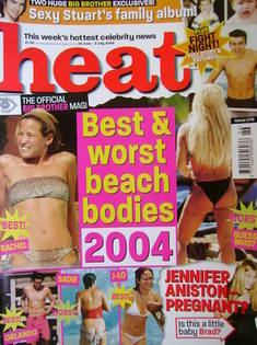 <!--2004-06-26-->Heat magazine - Best & Worst Beach Bodies 2004 cover (26 J