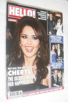 <!--2011-02-07-->Hello! magazine - Cheryl Cole cover (7 February 2011 - Iss