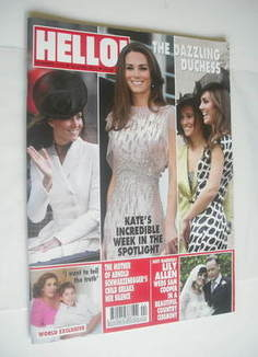 <!--2011-06-20-->Hello! magazine - Kate Middleton cover (20 June 2011 - Iss