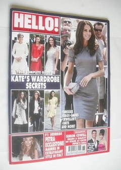 <!--2011-09-12-->Hello! magazine - Kate Middleton cover (12 September 2011