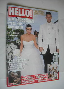 <!--2011-09-05-->Hello! magazine - Kim Kardashian and Kris Humphries weddin