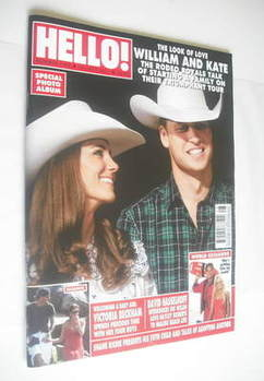 <!--2011-07-18-->Hello! magazine - Prince William and Kate Middleton cover