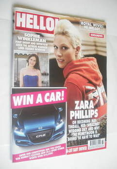 <!--2011-08-15-->Hello! magazine - Zara Phillips cover (15 August 2011 - Is