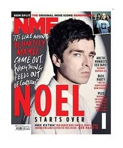 <!--2011-10-01-->NME magazine - Noel Gallagher cover (1 October 2011)