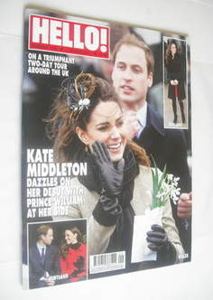 <!--2011-03-07-->Hello! magazine - Prince William and Kate Middleton cover