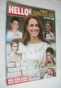 <!--2011-08-22-->Hello! magazine - Kate Middleton cover (22 August 2011 - I