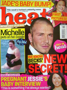 <!--2004-05-08-->Heat magazine - David Beckham cover (8-14 May 2004 - Issue