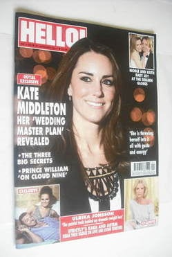 <!--2011-01-31-->Hello! magazine - Kate Middleton cover (31 January 2011 -
