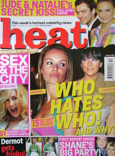 <!--2004-03-20-->Heat magazine - Who Hates Who! And Why? cover (20-26 March