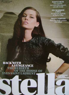Stella magazine - Back With A Vengeance cover (4 November 2007)