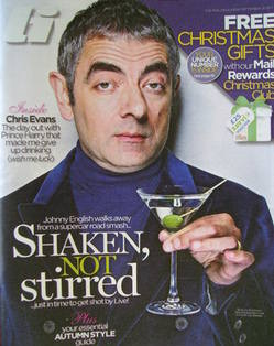 <!--2011-09-18-->Live magazine - Rowan Atkinson cover (18 September 2011)