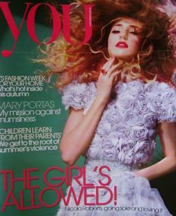 <!--2011-09-18-->You magazine - Nicola Roberts cover (18 September 2011)