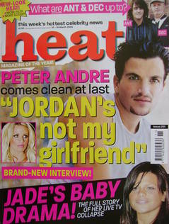 <!--2004-03-13-->Heat magazine - Peter Andre cover (13-19 March 2004 - Issu