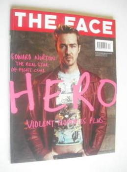 The Face magazine - Edward Norton cover (December 1999 - Volume 3 No. 35)
