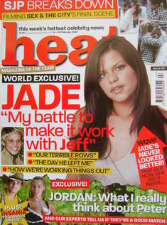 Heat magazine - Jade Goody cover (14-20 February 2004 - Issue 257)