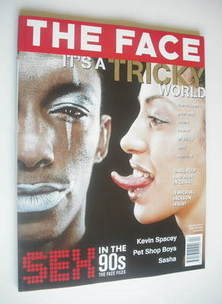 <!--1996-04-->The Face magazine - Tricky & Martina cover (April 1996 - Volu