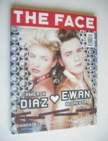 <!--1997-10-->The Face magazine - Cameron Diaz &amp; Ewan McGregor cover (October 1997 - Volume 3 No. 9)