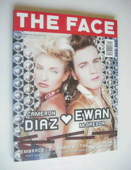 <!--1997-10-->The Face magazine - Cameron Diaz & Ewan McGregor cover (Octob