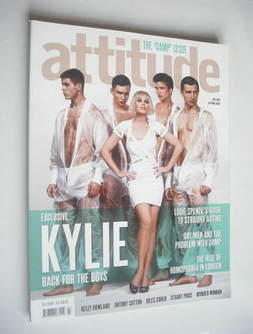<!--2010-07-->Attitude magazine - Kylie Minogue cover (July 2010)