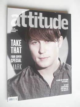 <!--2009-02-->Attitude magazine - Mark Owen cover (February 2009)