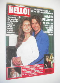 <!--1994-11-05-->Hello! magazine - Marti Pellow cover (5 November 1994 - Is