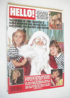 <!--1994-12-31-->Hello! magazine - The Duchess of York cover (31 December 1