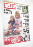 <!--1995-03-25-->Hello! magazine - Rachel Hunter cover (25 March 1995 - Issue 348)