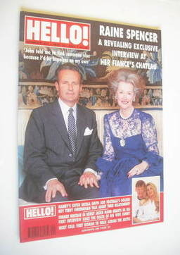 <!--1993-05-22-->Hello! magazine - Raine Spencer cover (22 May 1993 - Issue