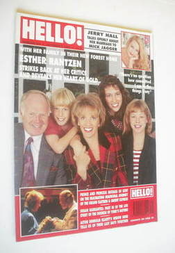 <!--1993-10-09-->Hello! magazine - Esther Rantzen cover (9 October 1993 - I