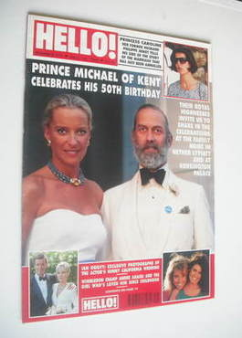 <!--1992-07-18-->Hello! magazine - Prince and Princess Michael of Kent (18