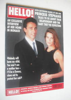 <!--1992-06-06-->Hello! magazine - Princess Stephanie and Daniel Ducruet co