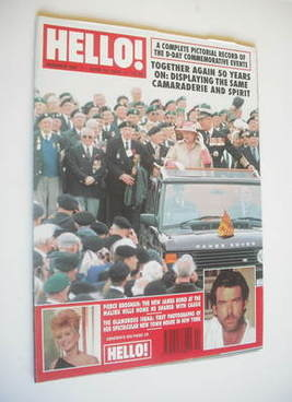 <!--1994-06-18-->Hello! magazine - Queen Elizabeth II and Prince Philip cov