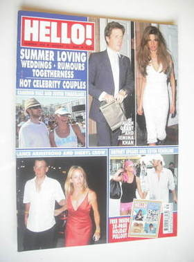 <!--2004-08-10-->Hello! magazine - Summer Loving cover (10 August 2004 - Is