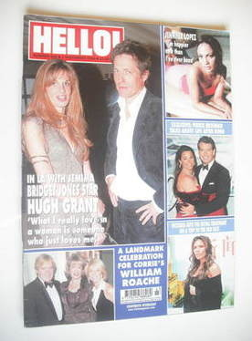 <!--2004-11-02-->Hello! magazine - Hugh Grant and Jemima Khan cover (2 Nove
