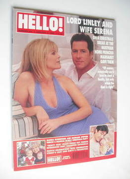<!--1999-01-02-->Hello! magazine - David Linley and Serena Linley cover (2