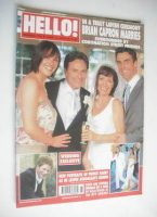 <!--2003-06-17-->Hello! magazine - Brian Capron wedding cover (17 June 2003 - Issue 769)