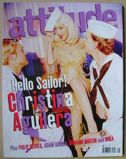 <!--2006-09-->Attitude magazine - Christina Aguilera cover (September 2006)