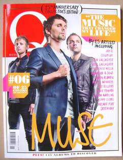 <!--2011-11-->Q magazine - Muse cover (November 2011)