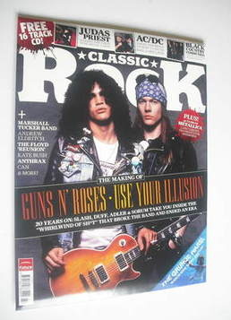 <!--2011-08-->Classic Rock magazine - Summer 2011 - Guns N' Roses cover